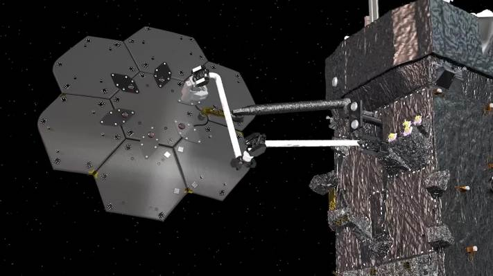Maxar and NASA will demonstrate orbital spacecraft assembly with a new robotic arm – TechCrunch
