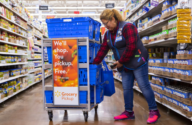 Walmart is piloting a pricier 2-hour 'Express' grocery delivery service – TechCrunch